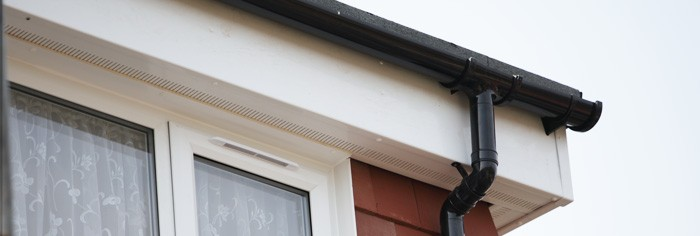 PVC fascia and soffit fitters